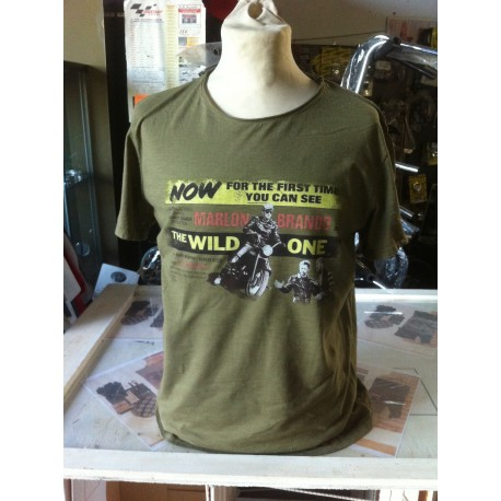 t-shirt cotone Marlon Brando